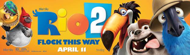 Kcmetromoms giveaway win tickets to rio 2 movie screening in win tickets to see rio 2 in merriam kansas voltagebd Images