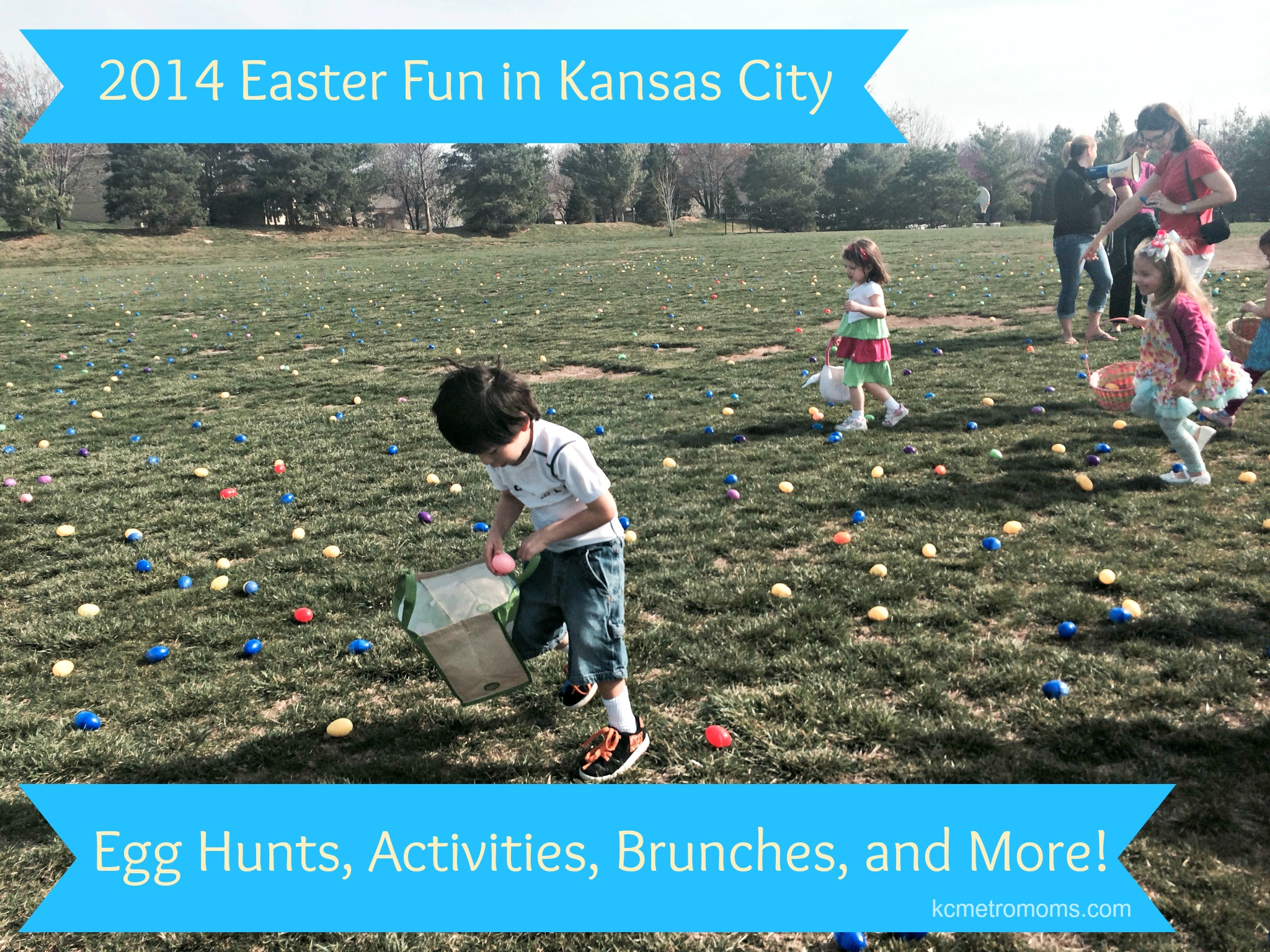 KC and JoCo Easter Activities, Brunches, Egg Hunts and More!
