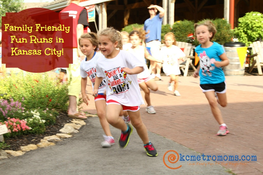Family Friendly Fun Runs in Kansas City, Johnson County, JoCo.