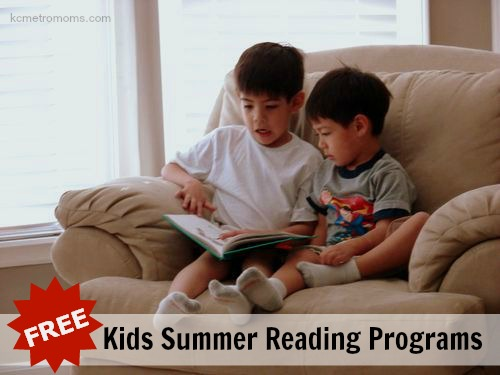 FREE Summer Reading Programs for Kids in KC