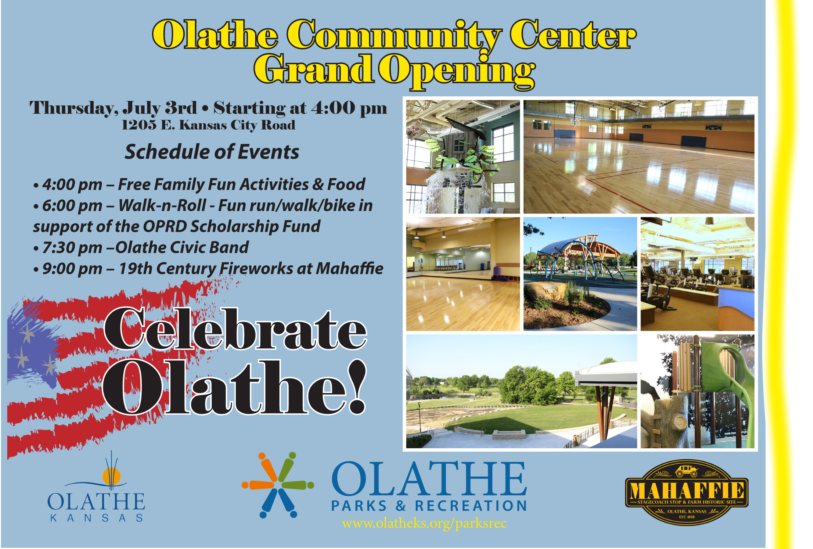 Olathe Community Center Family Fun Event