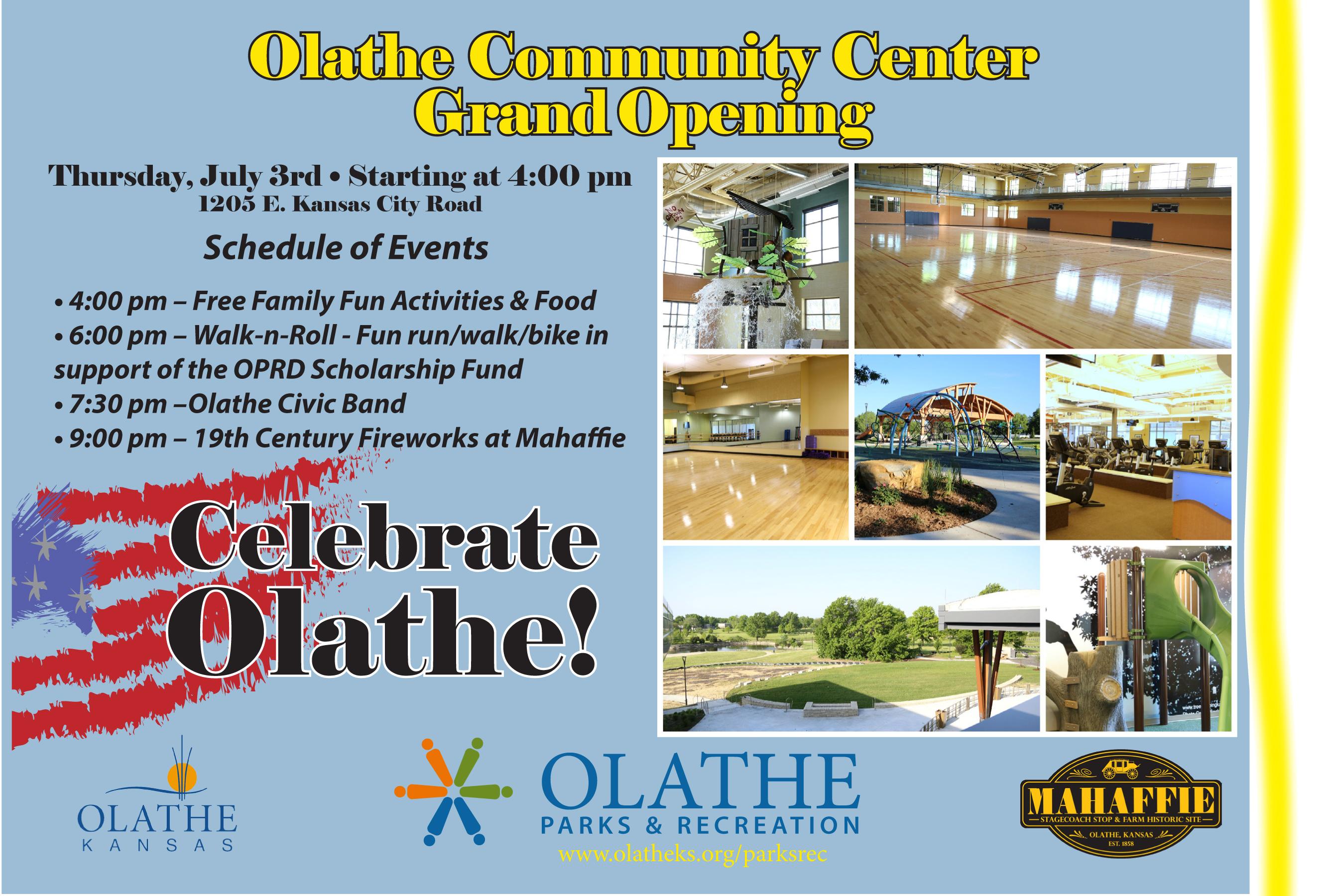 Olathe Community Center Family Fun Event