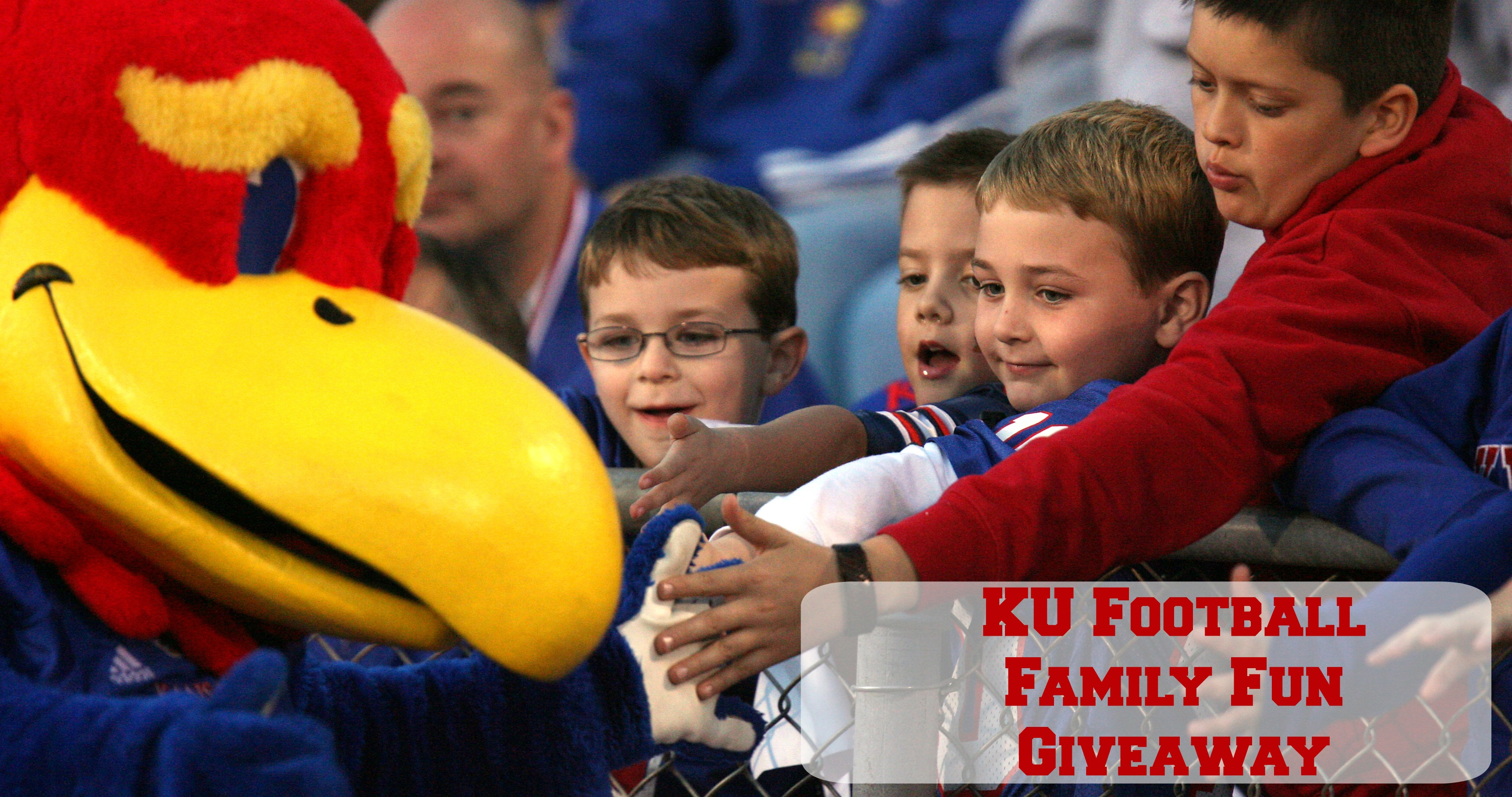 WIN a football family fun pack from KU athletics