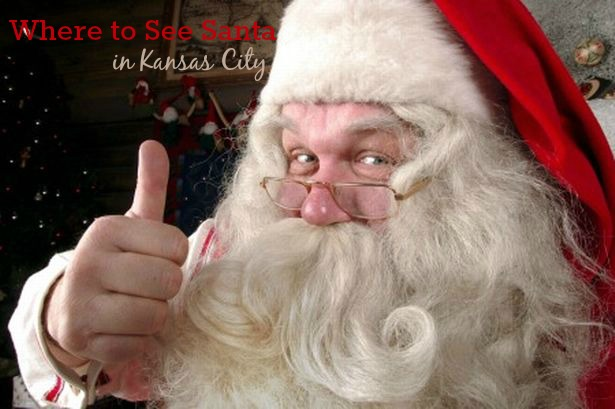 where to see Santa in KC