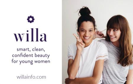 willa ~ smart, clean, confident beauty