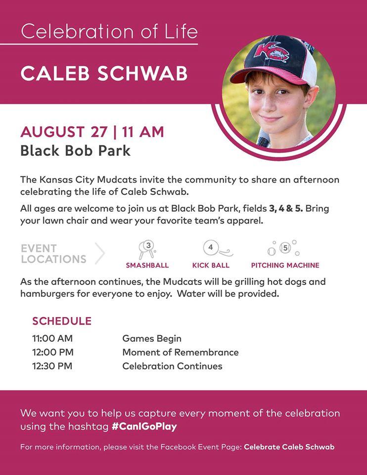 Celebrate Caleb Schwab #CanIGoPlay