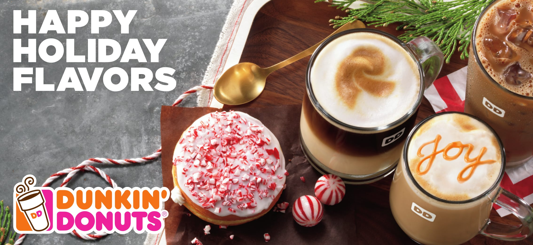 Happier Holidays with Dunkin' Donuts New Lineup of Beverages