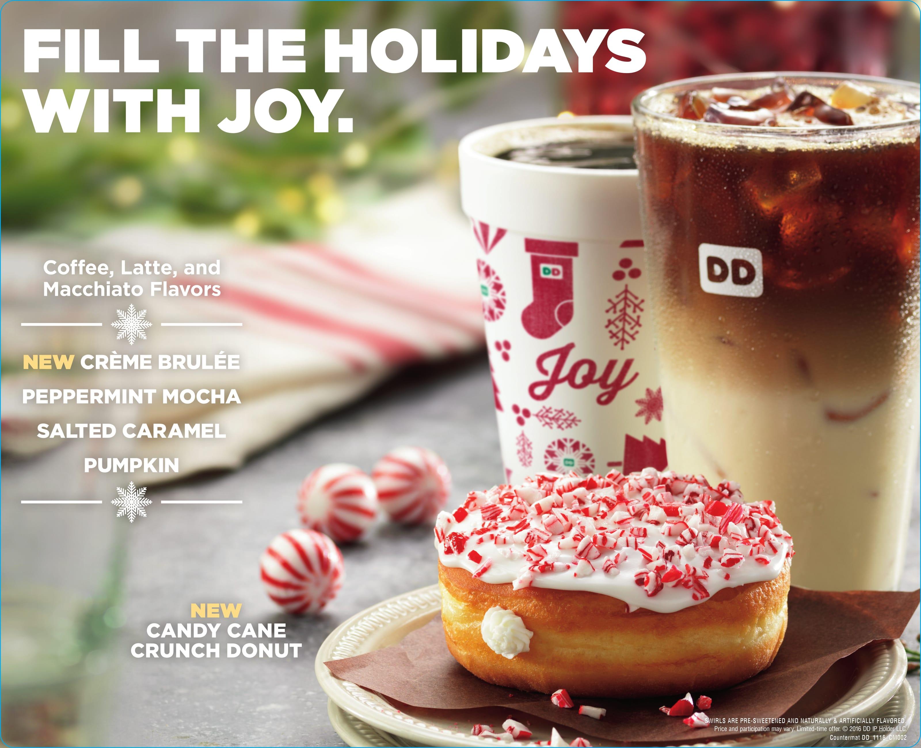 Win a Dunkin' Donuts Gift Card!