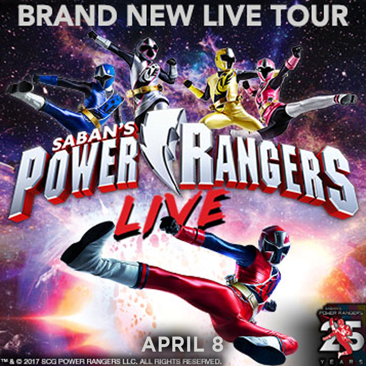 Power Rangers Live! at Arvest Bank Theatre at The Midland Kansas City