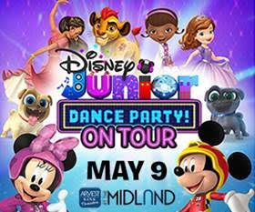 Disney Junior Dance Party On Tour in Kansas City | Arvest Bank Theatre at The Midland on May 9