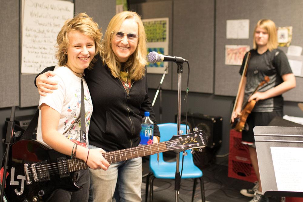 Melissa Etheridge visits KCYA